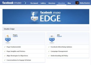 Facebook Studio Edge Certificate