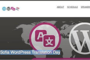 WordPress Translation Day