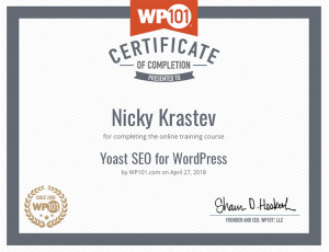 Yoast SEO for WordPress WP101