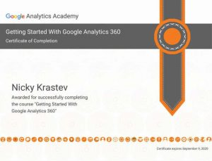 Getting Started With Google Analytics 360 Certificate